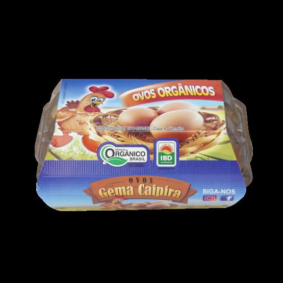 Detalhes do produto Ovos Orgânicos Tipo Grande