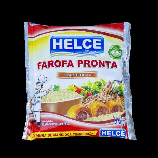 Detalhes do produto Farofa Temperada Helce