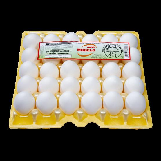Detalhes do produto Ovos Tipo Extra Branco Classe A
