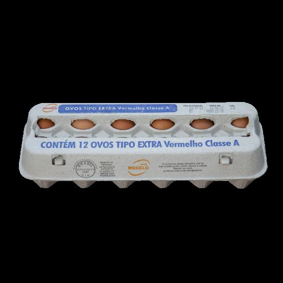 Detalhes do produto Ovos Tipo Extra Vermelho Classe A